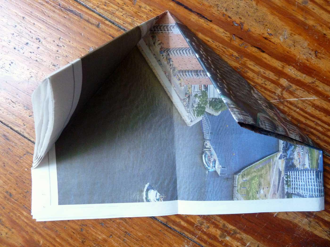 Origami Papierkorb Bild 6