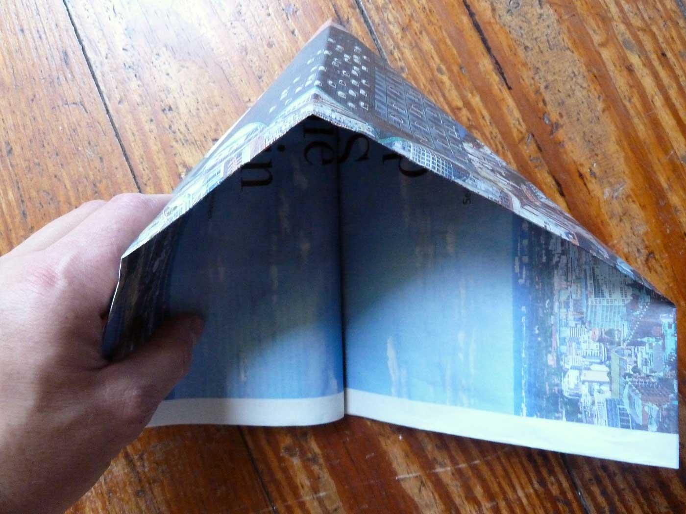 Origami Papierkorb Bild 7