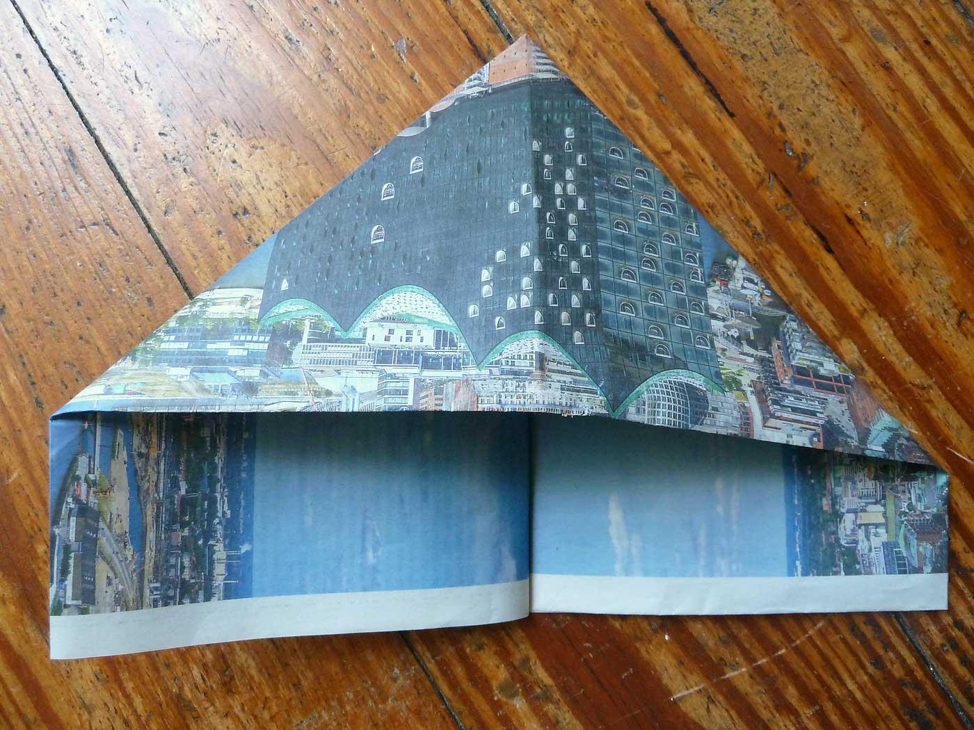 Origami Papierkorb Bild 8