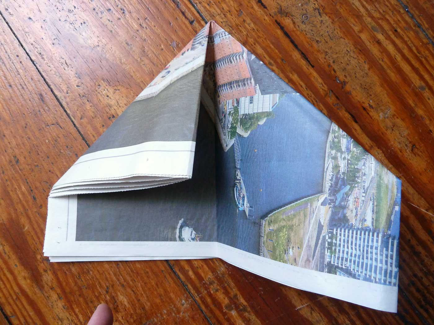 Origami Papierkorb Bild 9