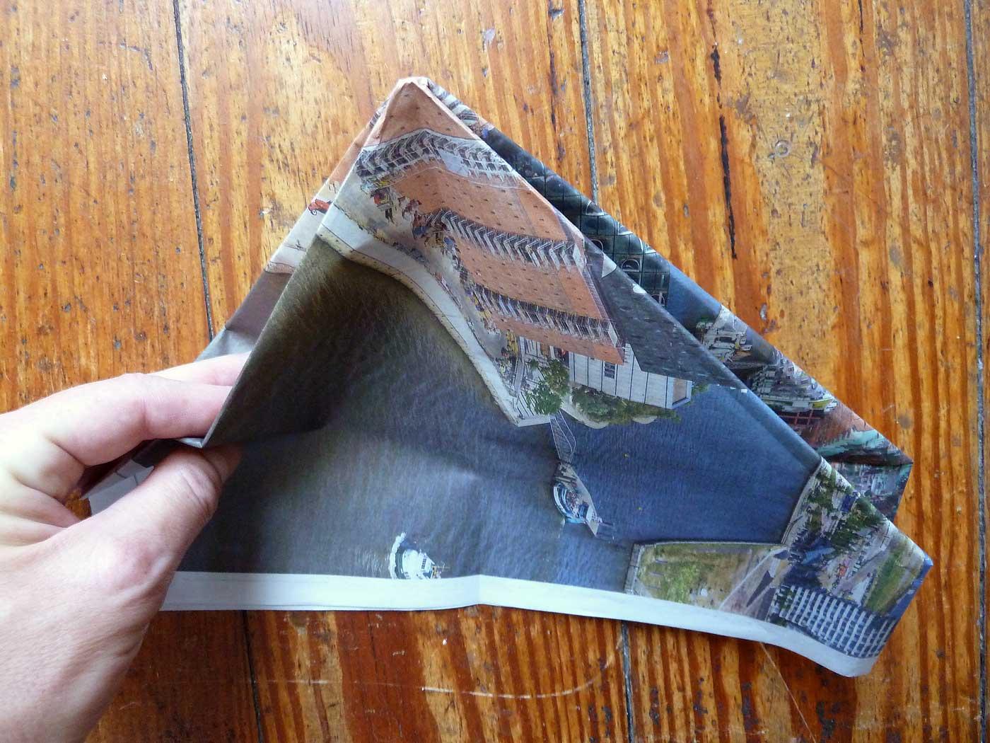 Origami Papierkorb Bild 11