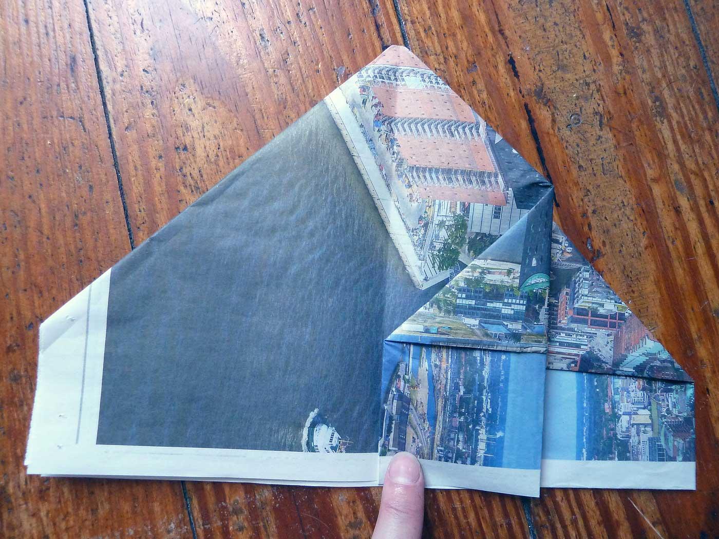 Origami Papierkorb Bild 12