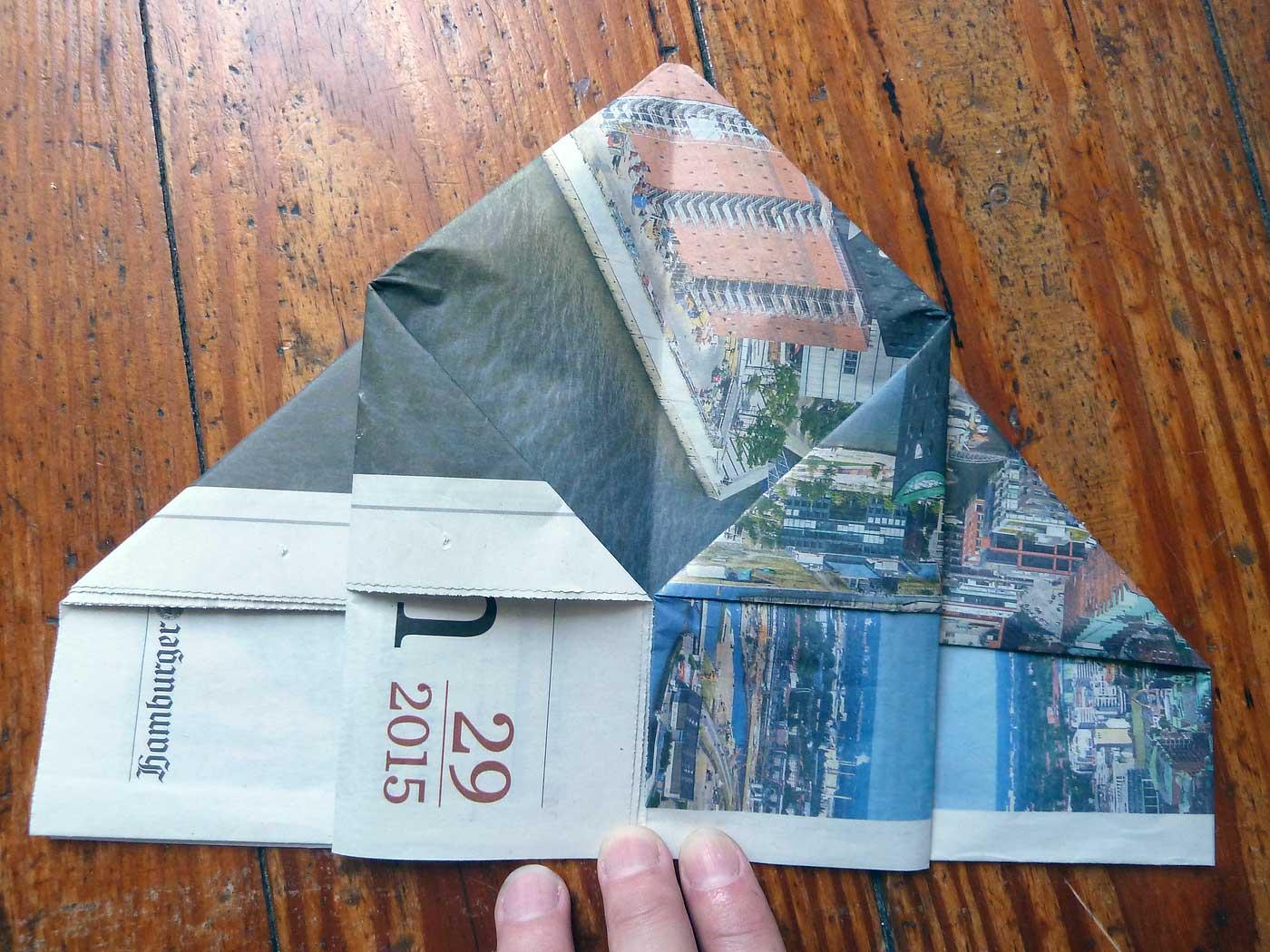 Origami Papierkorb Bild 13