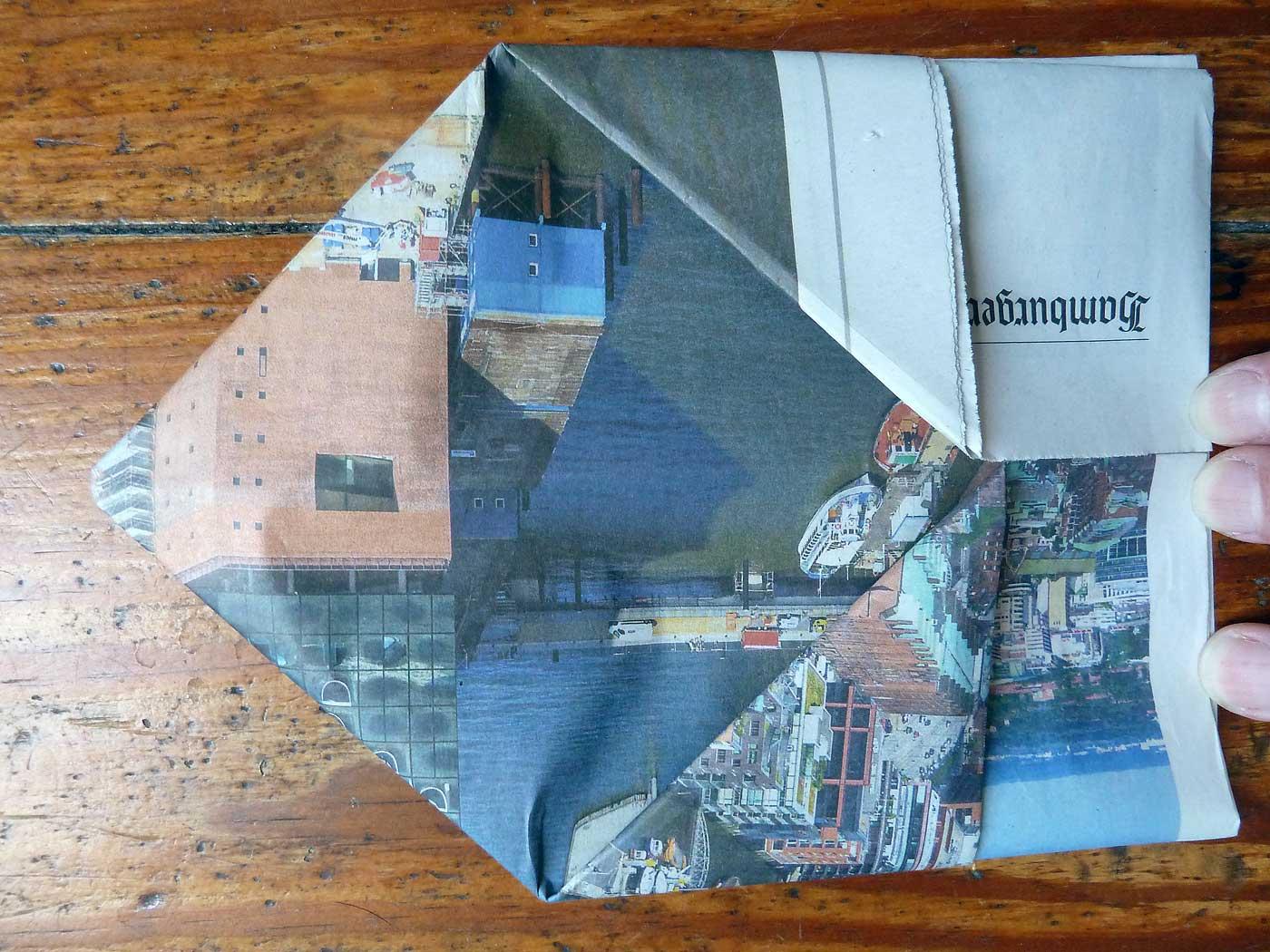 Origami Papierkorb Bild 15