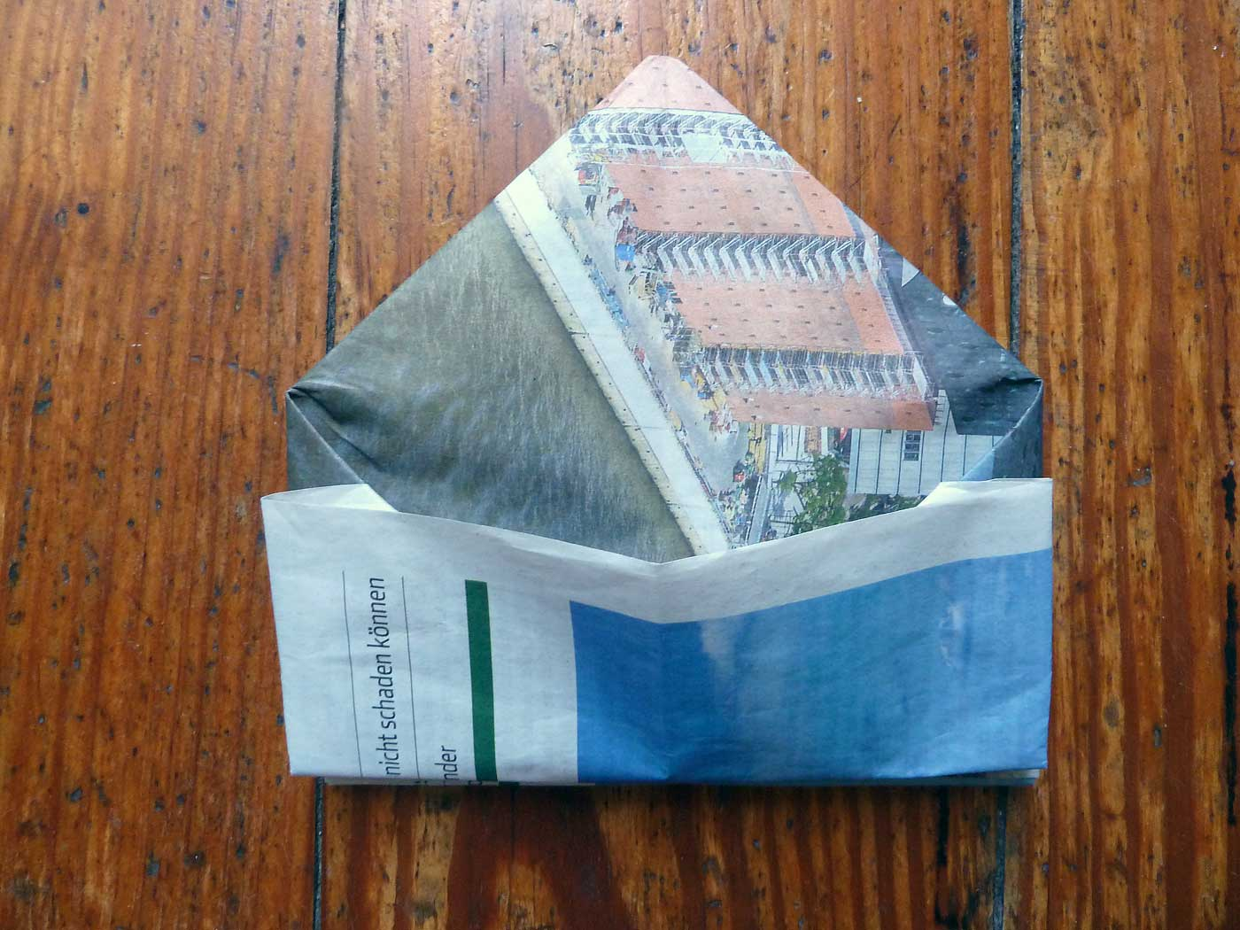 Origami Papierkorb Bild 19