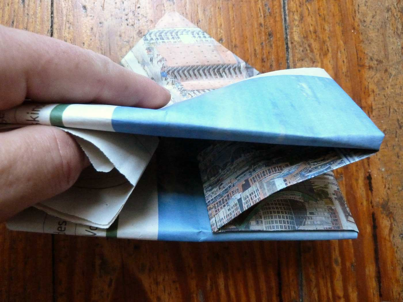 Origami Papierkorb Bild 20