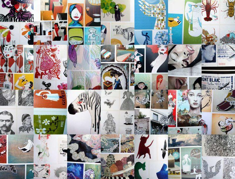 illusive – Contemporary Illustration Part 3 - Collage