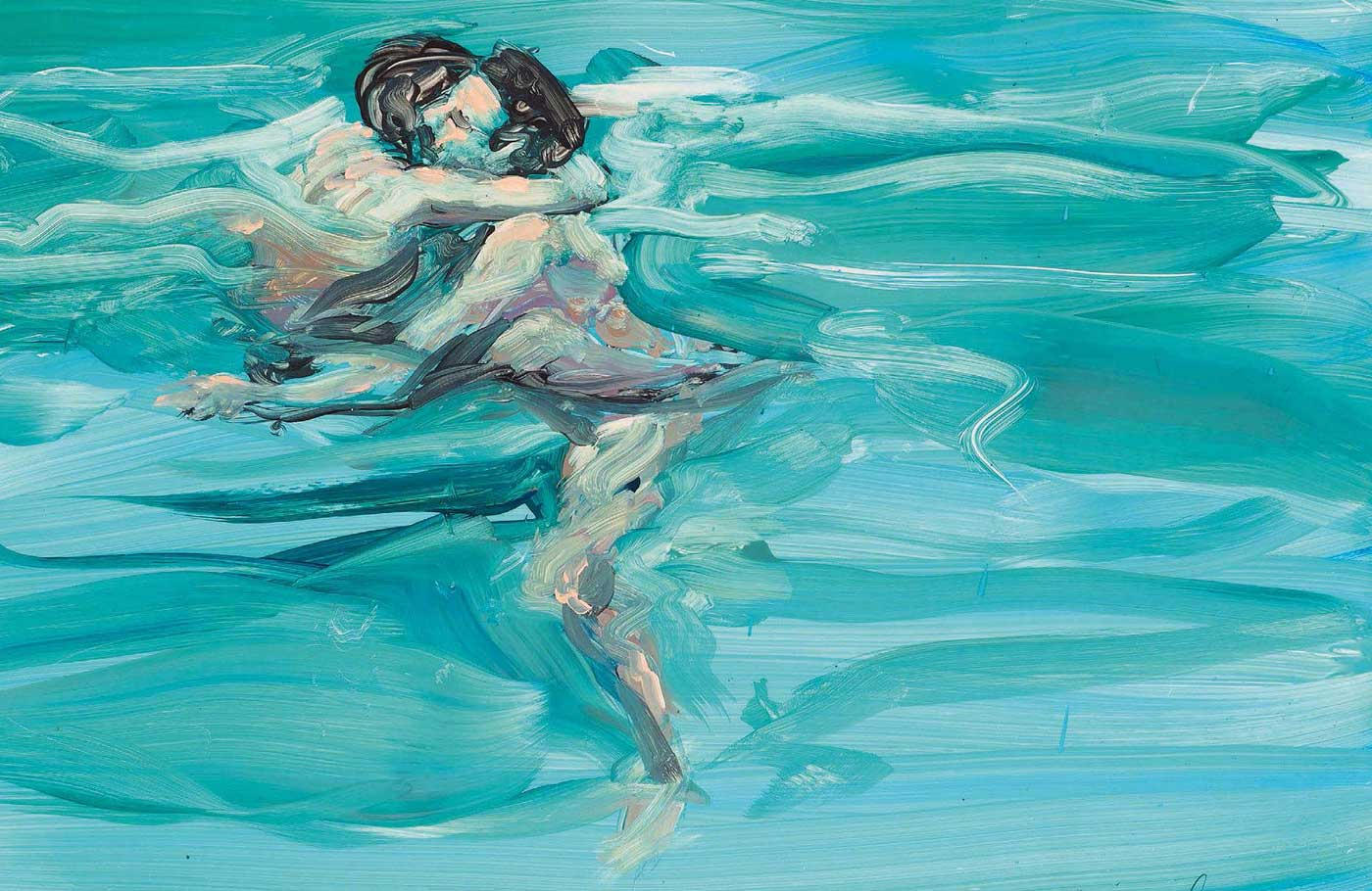 Swimming Lovers - Eric Fischle - 1984