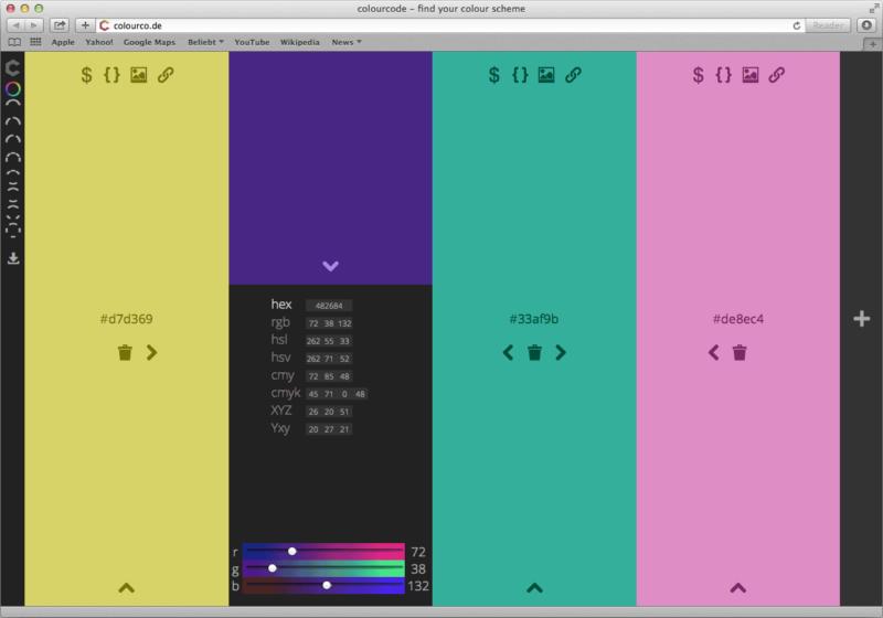 colourcode-Farbwähler