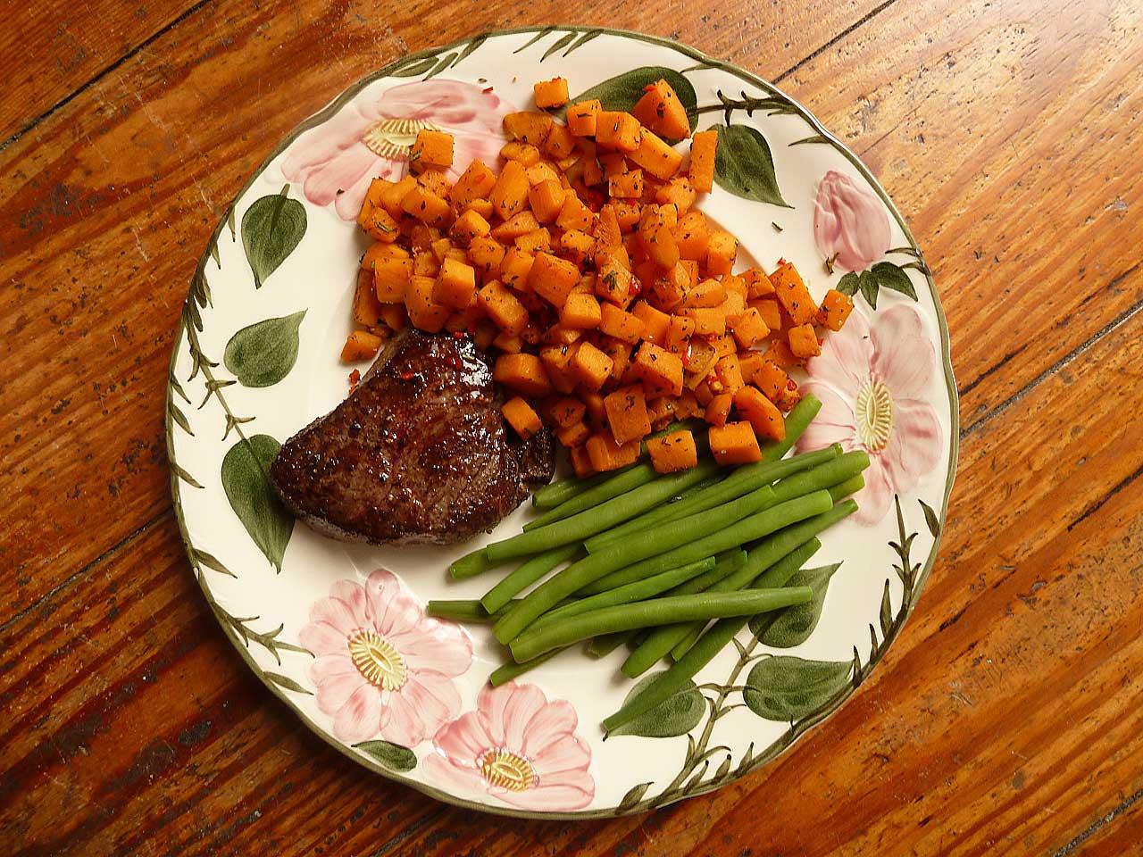 HelloFresh - Fertiges Essen auf dem Teller
