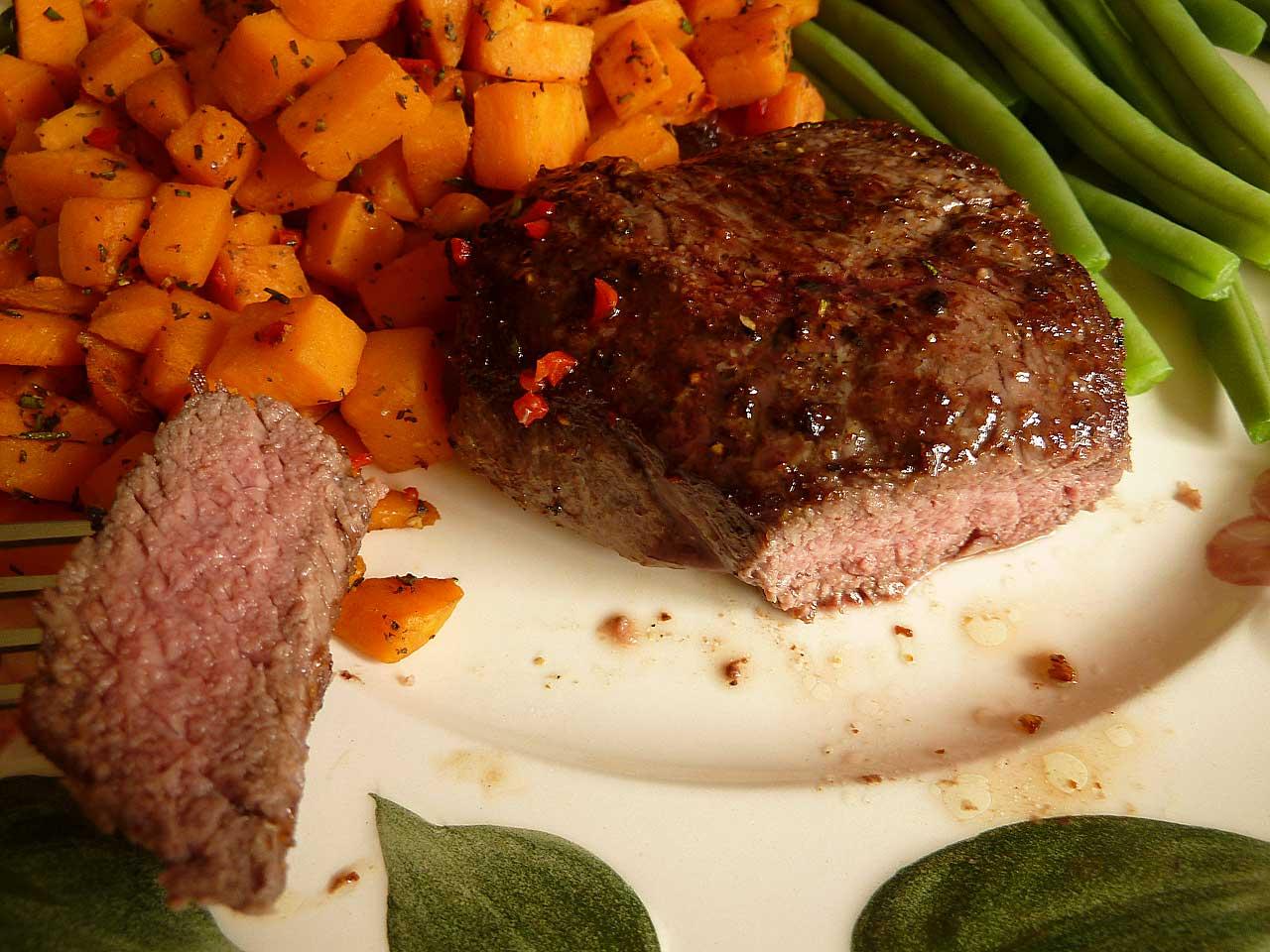 HelloFresh - Gelungenes Steak